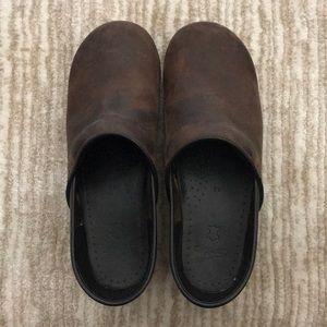 Dansko Leather Professional Clog